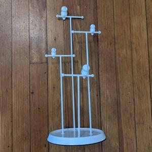 Umbra White Owl Jewelry Hanger Rack